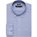 Pronto Uomo Blue Check Cotton Classic Fit Dress