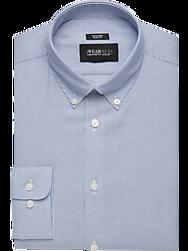 Awearness Kenneth Cole Blue Stripe Slim Fit Dress