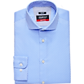 Awearness Kenneth Cole AWEAR-TECH Blue Check Slim Fit