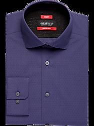 Awearness Kenneth Cole AWEAR-TECH Purple Slim Fit Dress