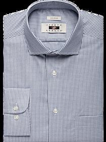 Joseph Abboud Navy Check Dress Shirt