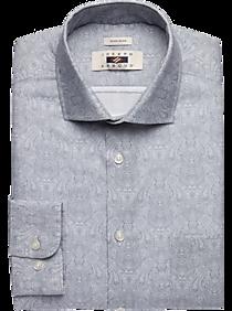 Joseph Abboud Gray Scroll Dress Shirt