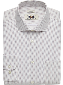 Joseph Abboud Lavender Dot Dress Shirt