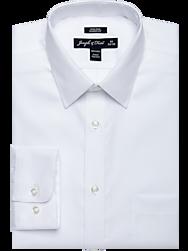 Joseph & Feiss White Classic Fit Dress Shirt