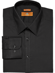 Mens Shirts - Egara Black Extreme Slim Fit Dress Shirt - Men's Wearhouse