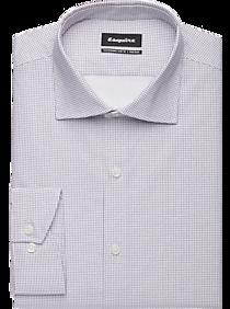 Mens Slim Fit, Shirts - Esquire Non-Iron Black Shadow Slim Fit Dress Shirt - Men's Wearhouse