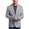 Joseph Abboud Light Gray Tic Casual Coat