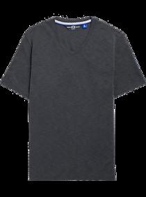 Mens Casual Shirts, Clearance - JOE Joseph Abboud Black V-Neck T-Shirt - Men's Wearhouse