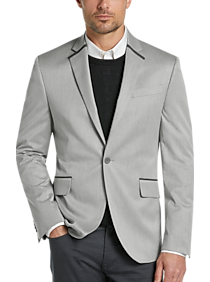 Mens Extra 30% Off Clearance, Clothing - JOE Joseph Abboud Silver Tipped Casual Coat - Men's Wearhouse