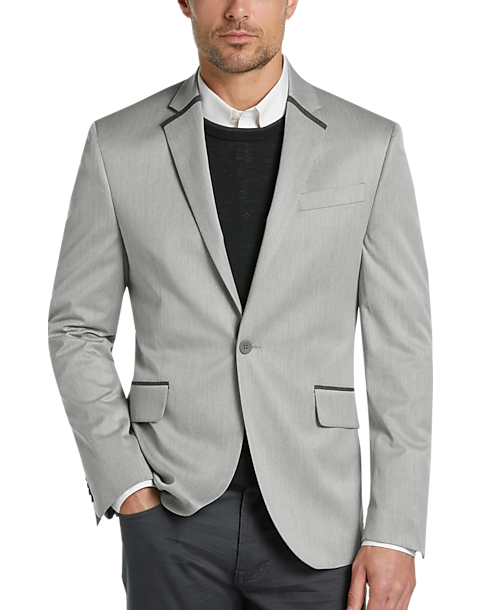 JOE Joseph Abboud Silver Tipped Casual Coat