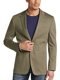 Mens Extra 30% Off Clearance, Clothing - Joseph Abboud Olive Casual Coat - Men's Wearhouse