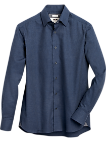 Mens Extra 30% Off Clearance, Clothing - Joseph Abboud Navy Modern Fit Sport Shirt - Men's Wearhouse