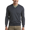 Joseph Abboud Charcoal 37.5® Technology V-Neck Sweater