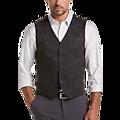 JOE Joseph Abboud Brown Paisley Slim Fit Vest