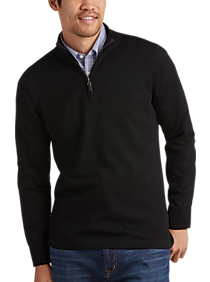 Joseph Abboud Black Merino Wool Sweater