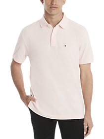 Tommy Hilfiger Pink Cotton Classic Fit Polo