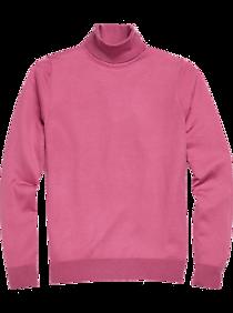 Mens Vintage Shirts – Casual, Dress, T-shirts, Polos Paisley  Gray Slim Fit Turtleneck Sweater Pink $89.99 AT vintagedancer.com