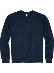 Alternative Apparel Navy Modern Fit Long Sleeve Crew Neck