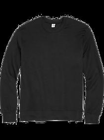 Alternative Apparel Black Modern Fit Long Sleeve Crew Neck Sweatshirt