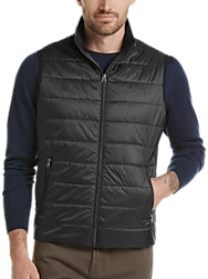 Awearness Kenneth Cole AWEAR-TECH Black Modern Fit Puffer