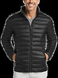 Calvin Klein Black Modern Fit Packable Quilted Jacket