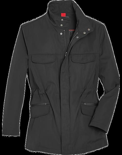 Awearness Kenneth Cole Black Slim Fit AWEAR-TECH Field Jacket