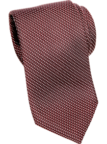 Awearness Kenneth Cole Burgundy Narrow Tie