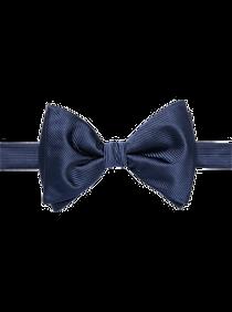 Mens Tuxedos & Formalwear, Big & Tall - Calvin Klein Navy Pre-Tied Bow Tie - Men's Wearhouse