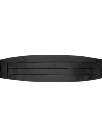 Mens Formal Vests & Cummerbunds, Tuxedos & Formalwear - Calvin Klein Black Cummerbund - Men's Wearhouse