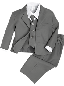 Mens - Peanut Butter Collection Gray Toddler's Tuxedo - Men's Wearhouse