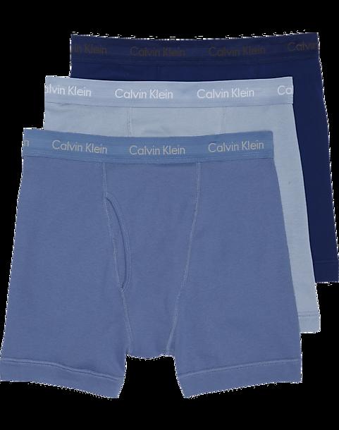 3-Pack Calvin Klein Cotton Classic Boxer Briefs (various sizes/colors)