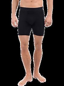 Tommy John Second 360 Sport 1.0 Performance Skin Boxer Brief, Black