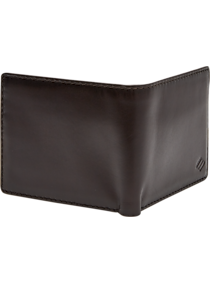 Mens 30% Off Accessories, Accessories - Joseph Abboud Brown Bi-Fold Wallet - Men's Wearhouse