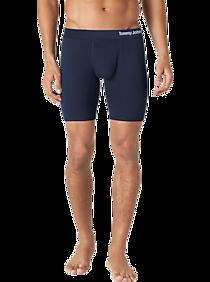 Mens Underwear, Accessories - Tommy John Cool Cotton Navy Boxer Brief - Men's Wearhouse