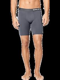 Mens Underwear, Accessories - Tommy John Cool Cotton Gray Boxer Brief - Men's Wearhouse