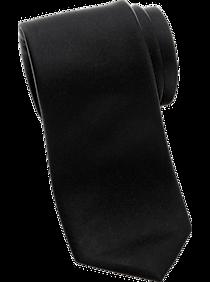 Egara Orange Black Skinny Extra Long Tie