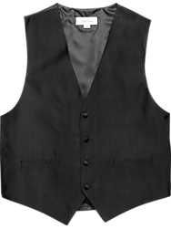 Calvin Klein Black Formal Vest