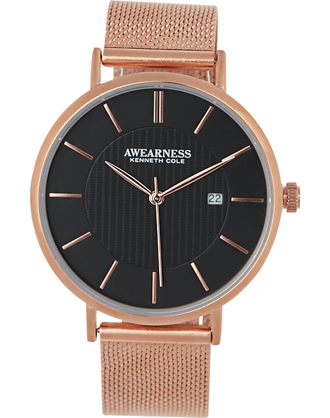 Kenneth Cole Rose Gold-Tone Watch - Men's Accessories ...