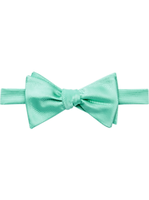 Mens Clearance - Calvin Klein Spa Green Pre-Tied Bow Tie - Men's Wearhouse