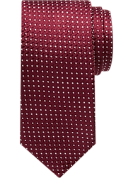 Nautica Burgundy Micro Dot Narrow Tie