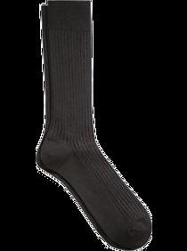 Joseph Abboud Soft Socks Black Ribbed Socks, 1 Pair