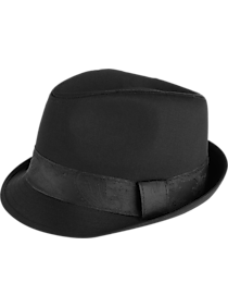 Mens Scarves, Hats & Gloves, Accessories - Free Authority Black Fedora - Men's Wearhouse
