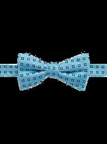 Mens Ties, Sale - Nautica Blue Squares Pre-Tied Bow Tie - Men's Wearhouse