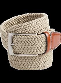Joseph Abboud Khaki Woven Belt