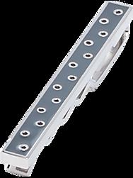 Egara Gray & Silver Polka-Dot Tie Bar