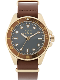 Joseph Abboud Gold & Olive Green Watch