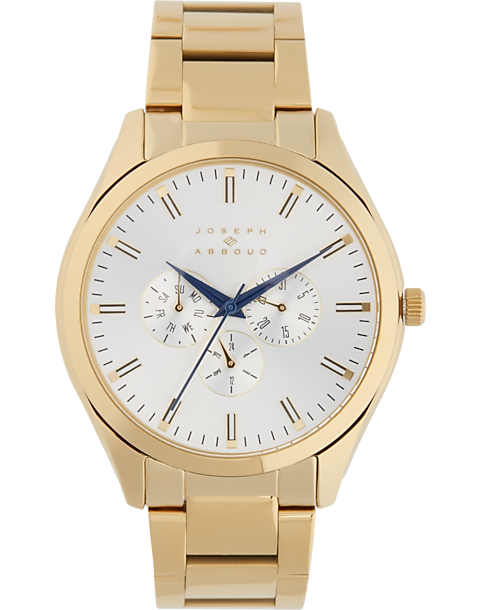 Joseph Abboud Gold Watch - Men's Accessories | Men's Wearhouse