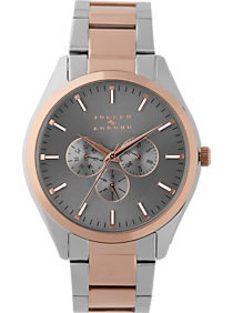 Joseph Abboud Rose Gold & Silver Watch