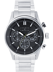 Joseph Abboud Silver & Charcoal Watch