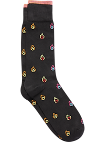 Egara Black Flames Socks, 1 Pair